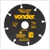 Disco de Corte para Madeira DMV 110 VONDER
